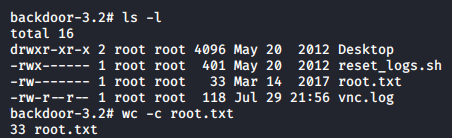 Got Root.txt